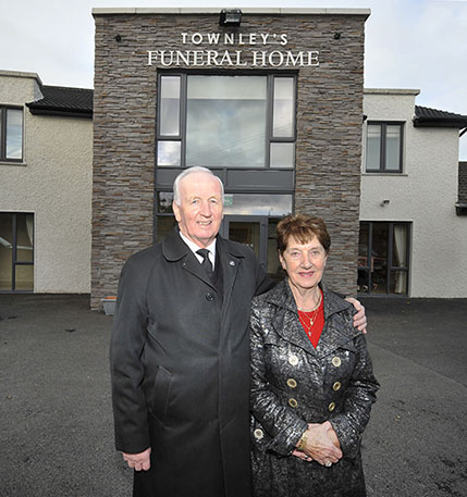 Paddy and Patricia Townley